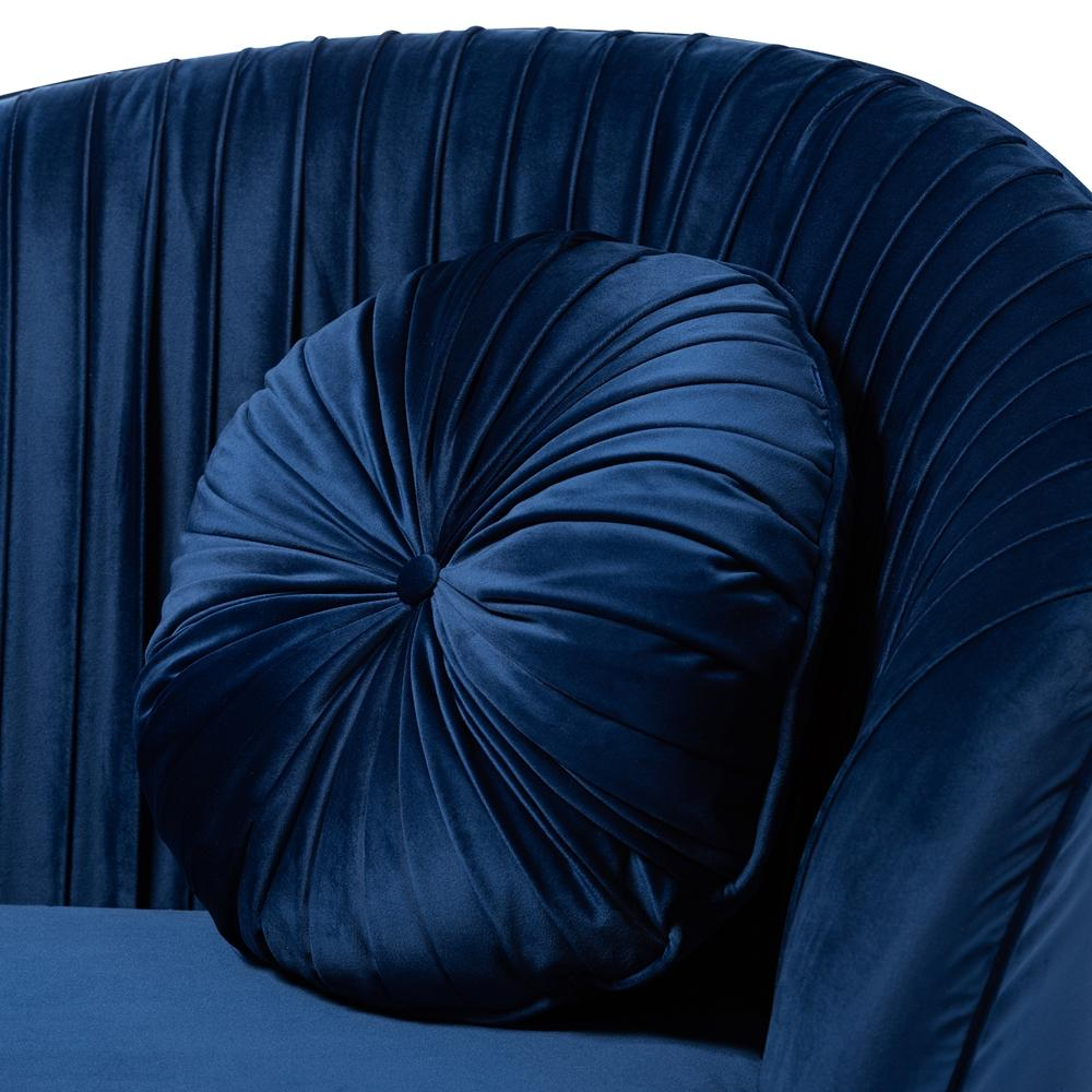 Nevena Velvet Sofa-Navy - Modn City