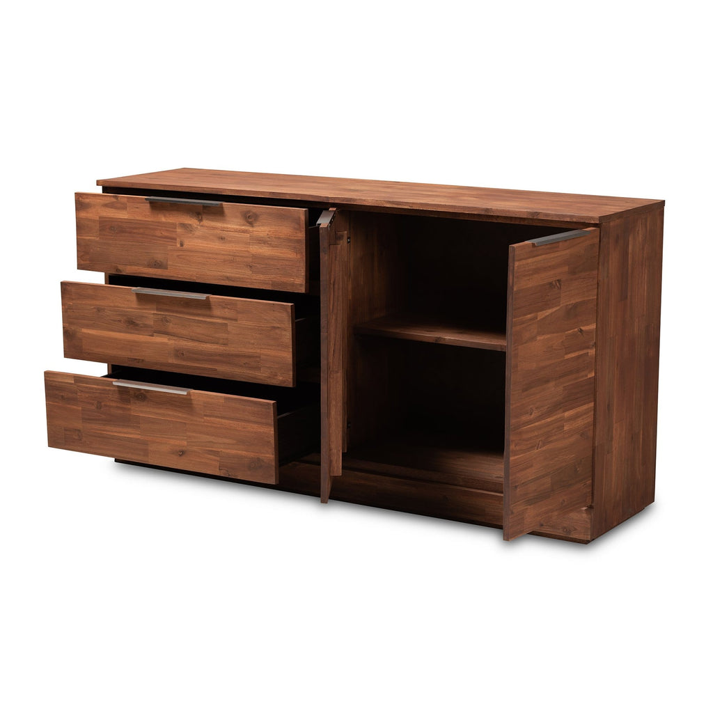 Austin Contemporary 3-Drawer Sideboard - Modn City