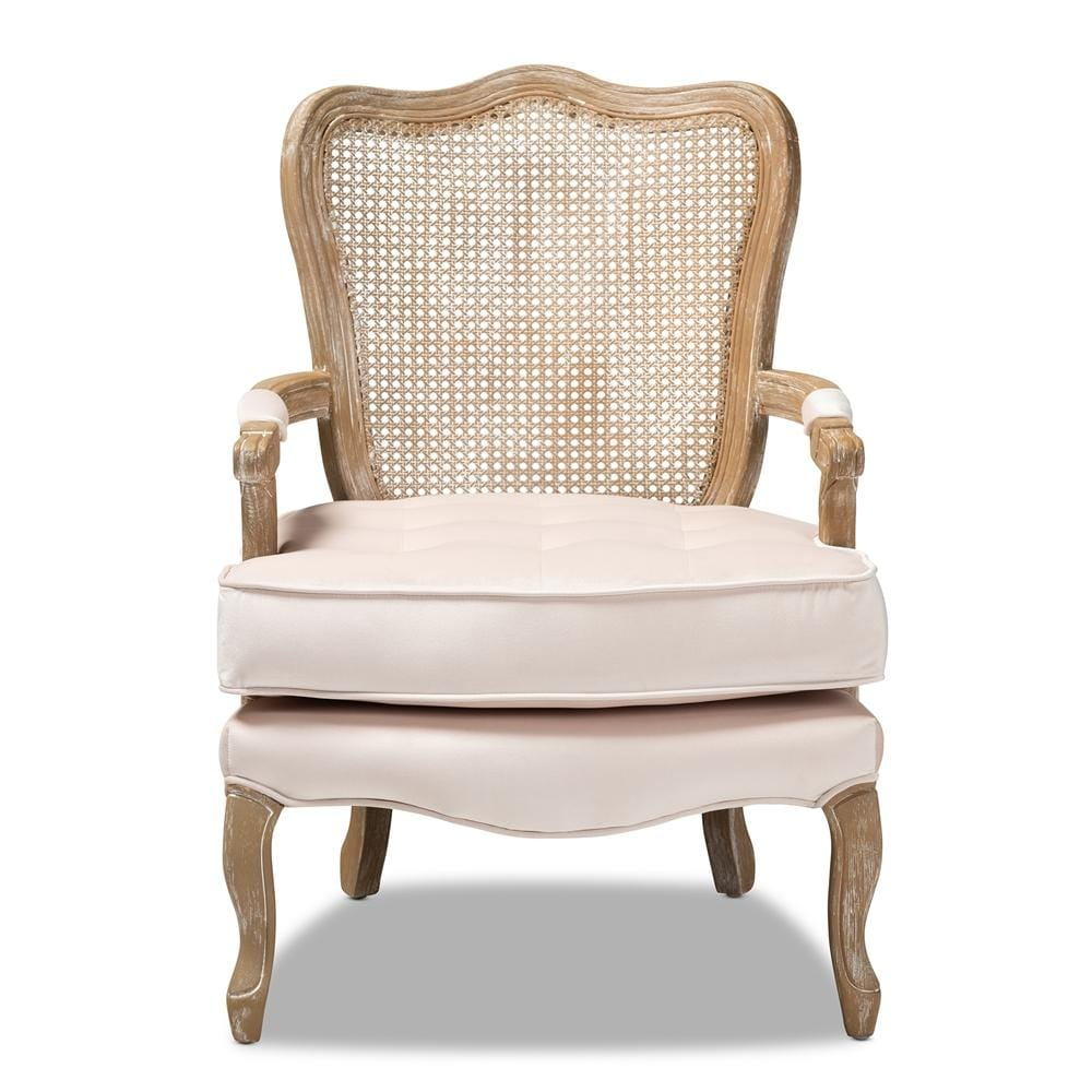 Vallea French Armchair-Light Beige - Modn City