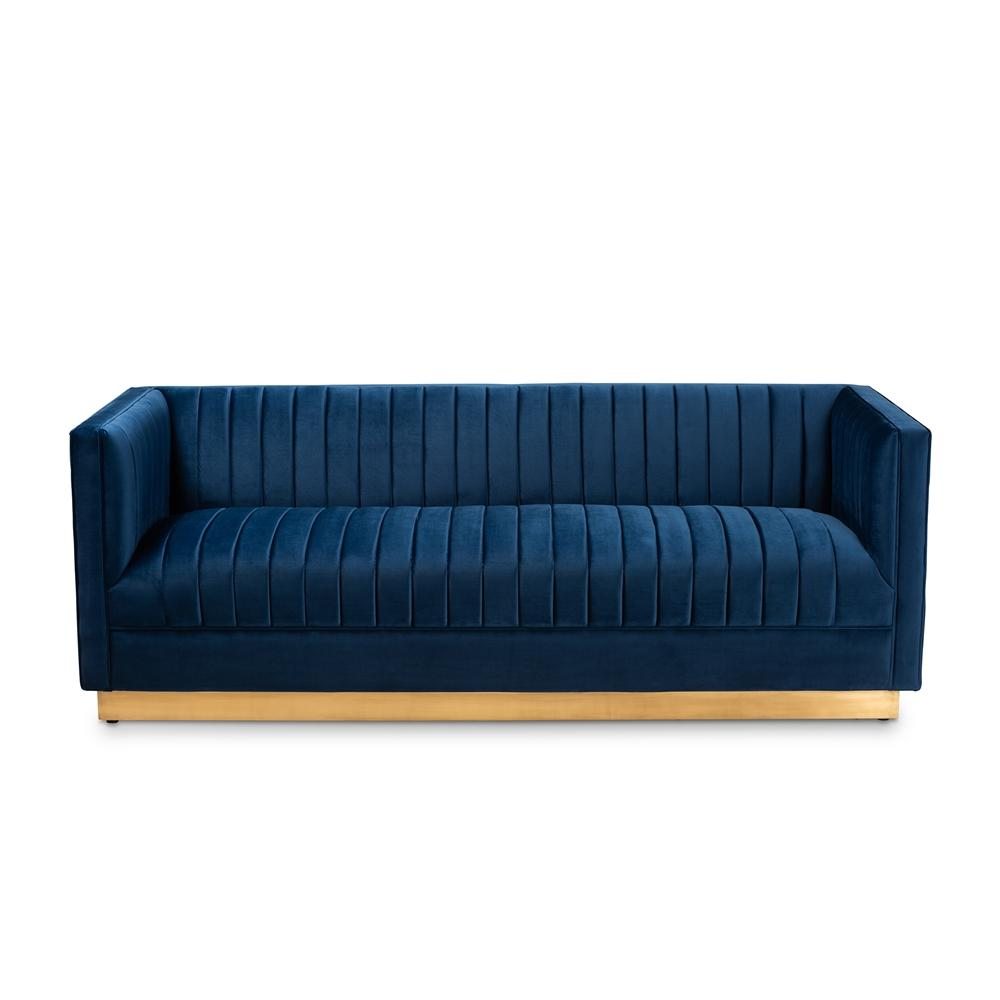 Aveline Luxe Sofa-Navy Blue - Modn City