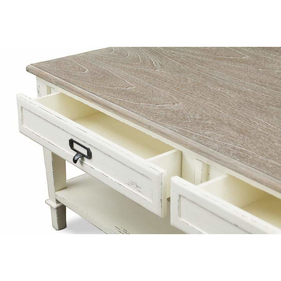 Dauphine Traditional Coffee Table - Modn City