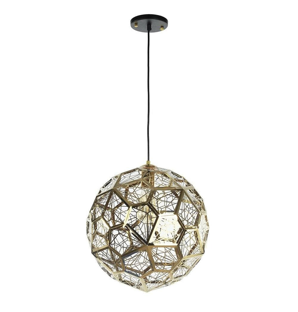 Etch Web Pendant Lamp - Gold - Reproduction - Modn City