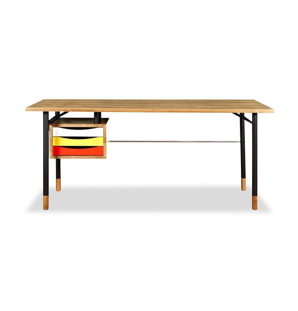 Nyhavn Desk - Ash/Yellow/Red - Reproduction - Modn City