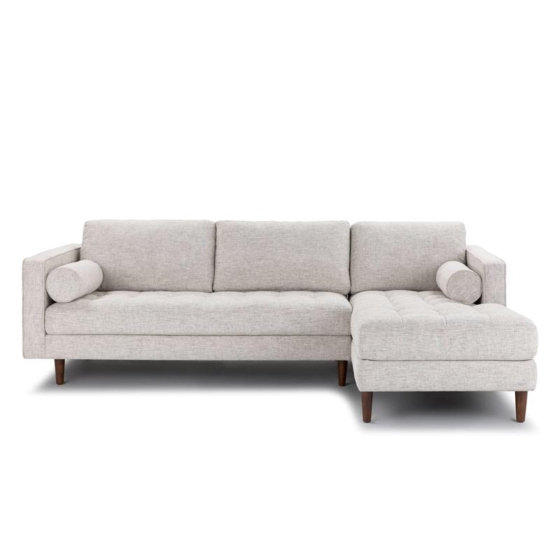 Galen Sectional Sofa-Grey - Modn City