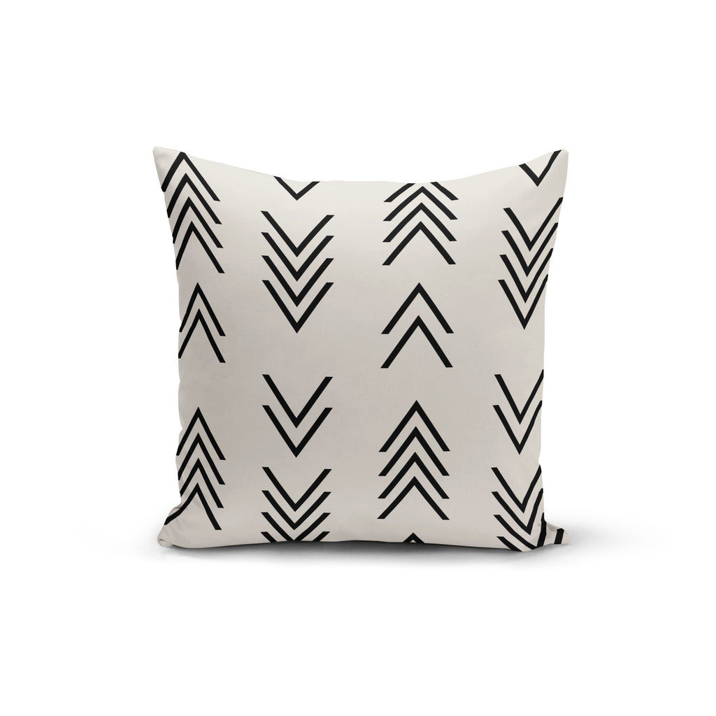 Modern Arrow Top Pillow Cover - Modn City
