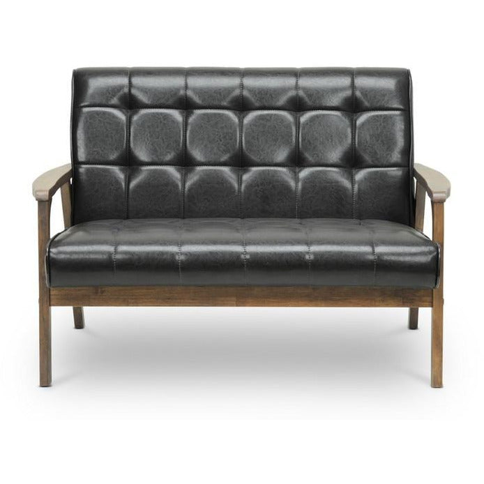 Baxton Studio Loveseat - Modn City
