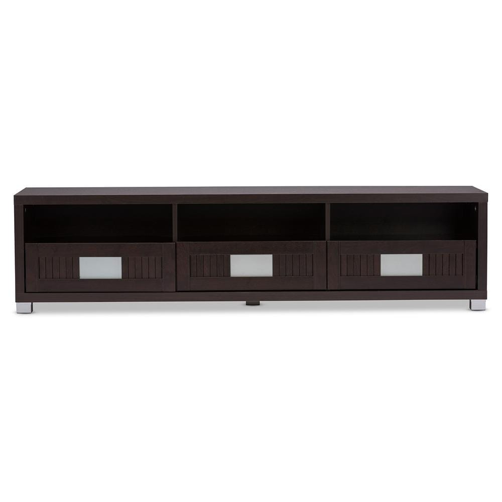 Gerhardine TV Cabinet with Three-Drawers-(63-inch) - Modn City