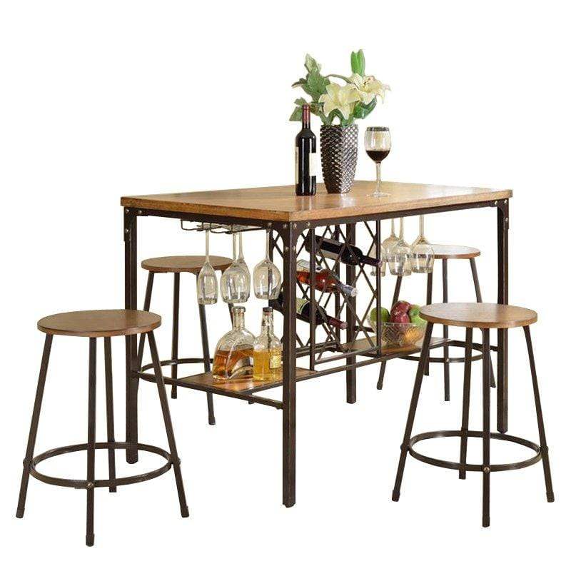 Baxton Studio Vintner Pub Set - Modn City