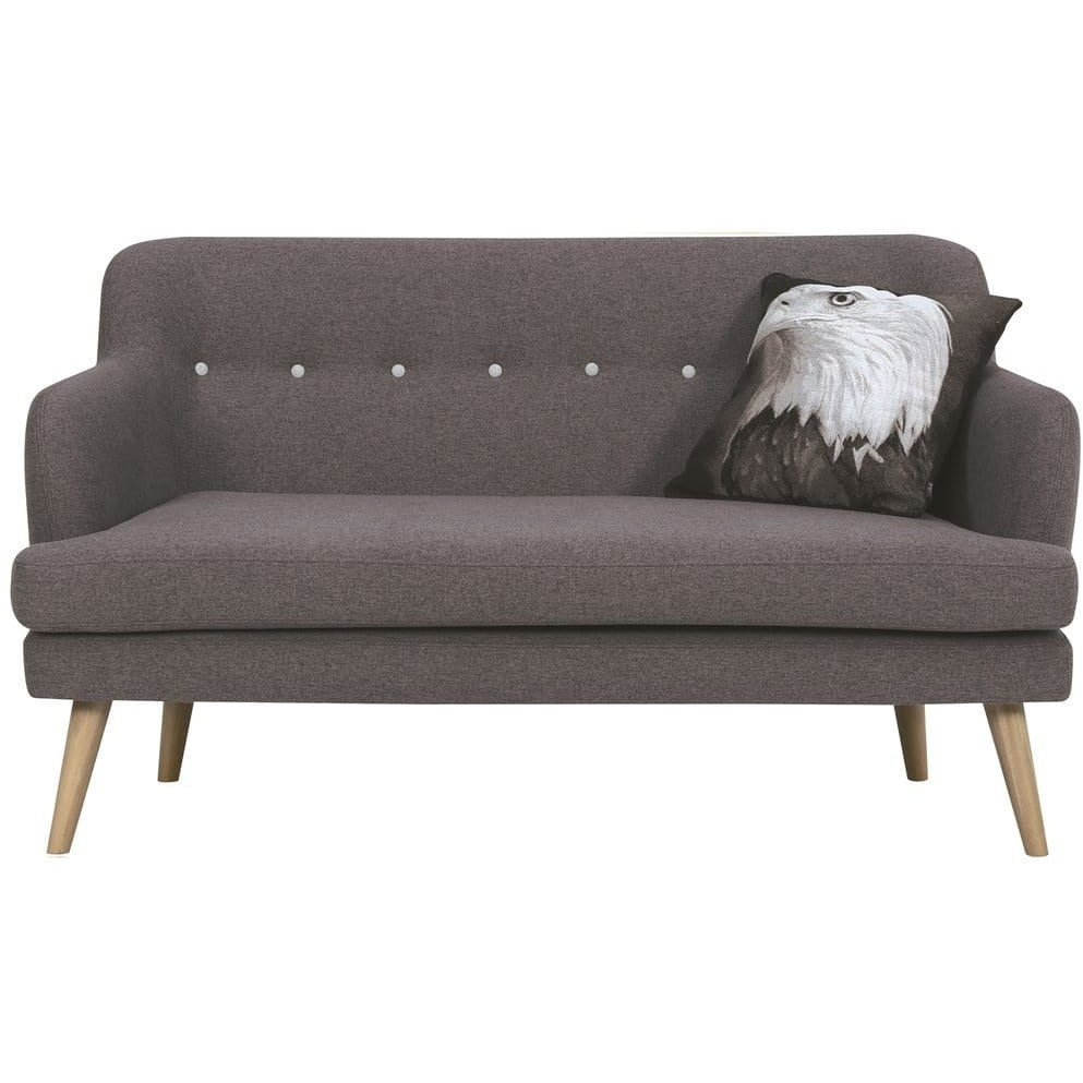 Exelero Loveseat 2 Seater Sofa - Battleship Grey - Modn City