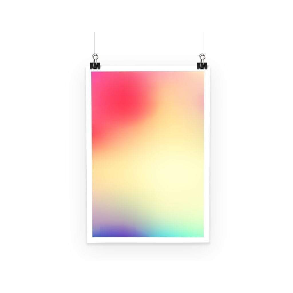 Abstract Gradient 5 Poster - Modn City