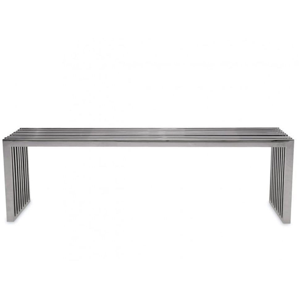 Stainless Steel Bench - Modn City