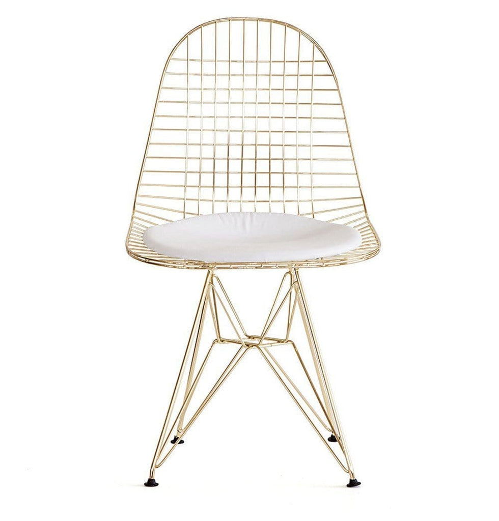 DKR Eiffel Gold Wire Chair - Reproduction - Modn City