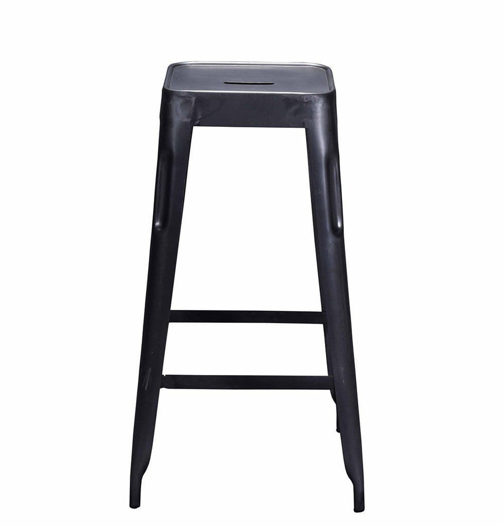 Tolix Style Bar Stool Grey - Iron - Reproduction - Modn City
