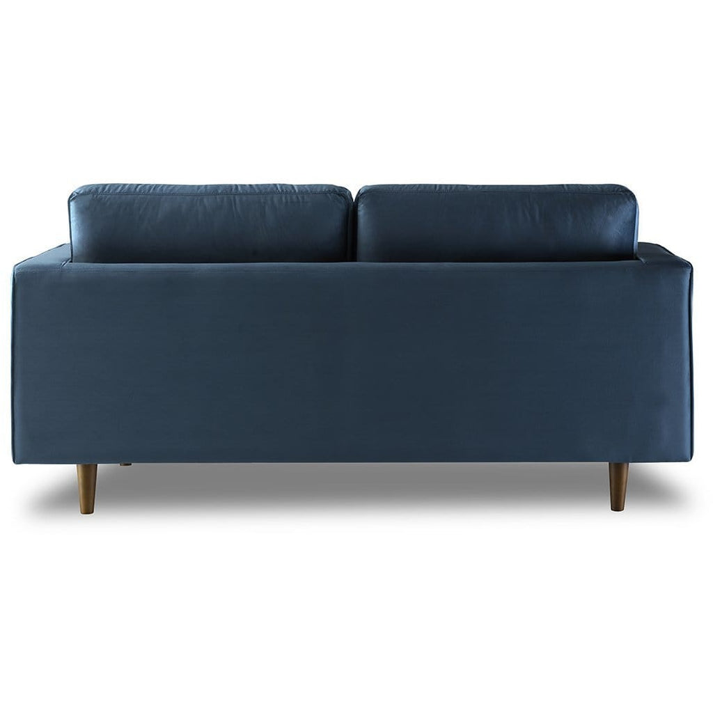 Bente Tufted Velvet Loveseat 2-Seater Sofa - Light Blue - Modn City