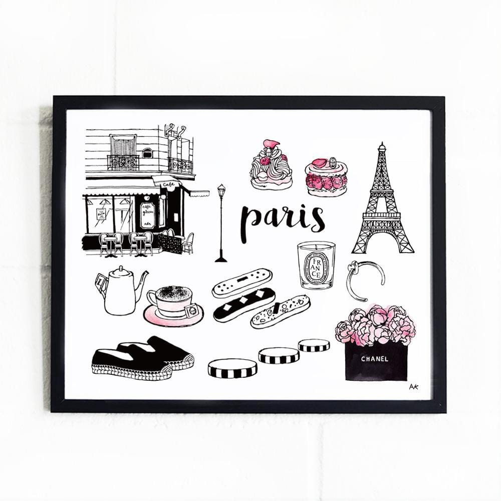 Paris Art Print - Modn City