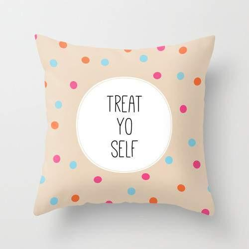 Treat Yo Self Pillow - Modn City