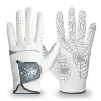 GOuft Spider Web Golf Glove White Edition- Grey
