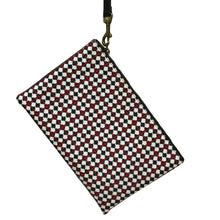 Load image into Gallery viewer, Pouch - Red, White & Black Allover