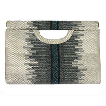 Load image into Gallery viewer, Cut-Out Clutch - Grey Southwest 1975