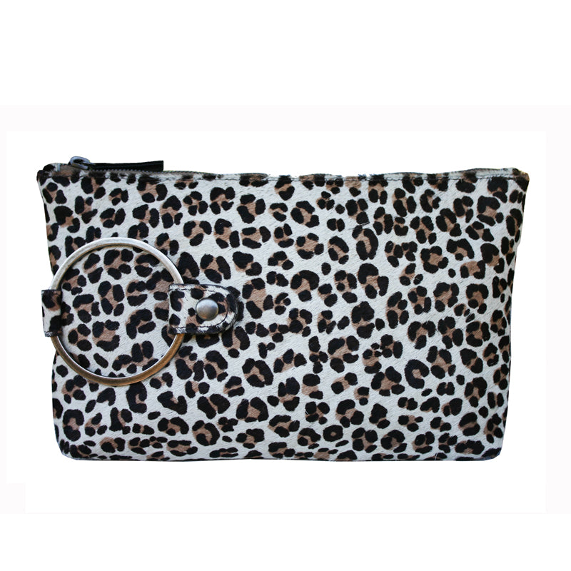 Ring Clutch - Baby Cheetah