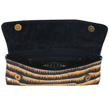 Load image into Gallery viewer, Baguette Clutch  - Gold Tinsel