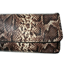 Load image into Gallery viewer, Baguette Clutch  - Python