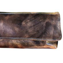 Load image into Gallery viewer, Baguette Clutch  - Purple & Blush