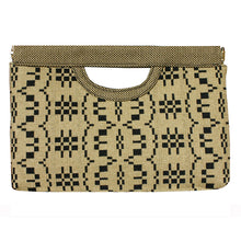 Load image into Gallery viewer, Cut-Out Clutch - Wheat Basketweave 1975