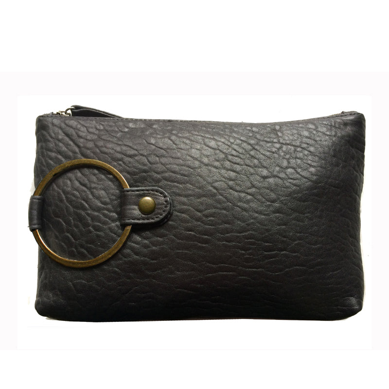 Ring Clutch - Soft Black
