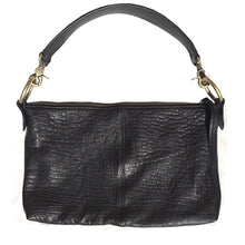 Load image into Gallery viewer, Slouchy Bag - Soft Black Leather
