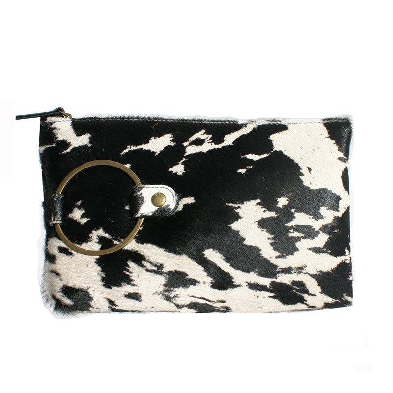 Ring Clutch - Black & White