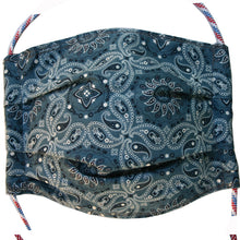Load image into Gallery viewer, TMask - Denim Blue Bandana
