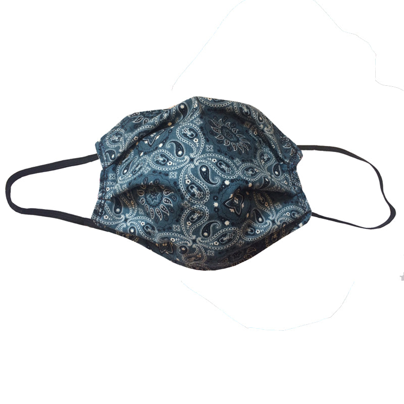 KW Mask - Denim Blue Bandana