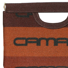 Load image into Gallery viewer, Cut-Out Clutch - Brown 1983