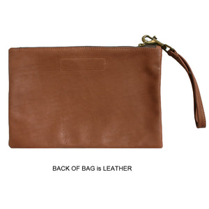 Unlined Pouch - Brown 1983