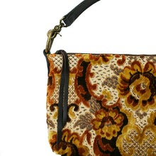 Load image into Gallery viewer, Slouchy Bag - Vintage Brown Plush Floral