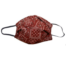 Load image into Gallery viewer, KW Mask - Brown Bandana
