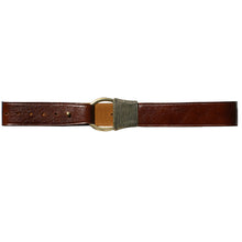 Load image into Gallery viewer, Cast Rope Belt - Cognac Leather