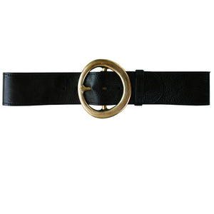 Big Chunky Waist Belt - Black