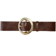 Load image into Gallery viewer, Big Chunky Waist Belt - Brown