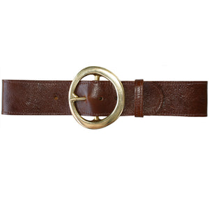 Big Chunky Waist Belt - Brown