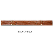Load image into Gallery viewer, Interlock Embossed Belt - Cognac