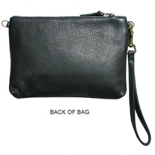 Load image into Gallery viewer, Double-Zip Bag with Two Straps - Leopard