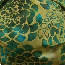 Load image into Gallery viewer, KW Mask - Green, Gold & Turquoise Abstract Floral