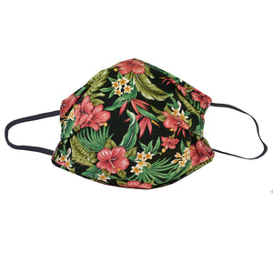 KW Mask - Hawaiian Floral