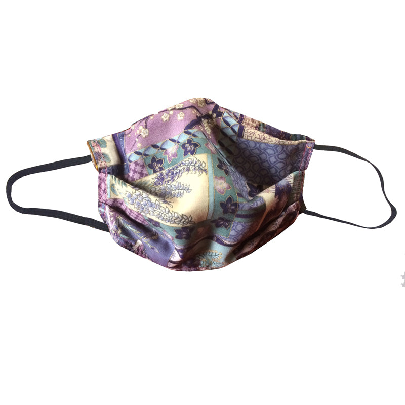KW Mask - Purple Floral