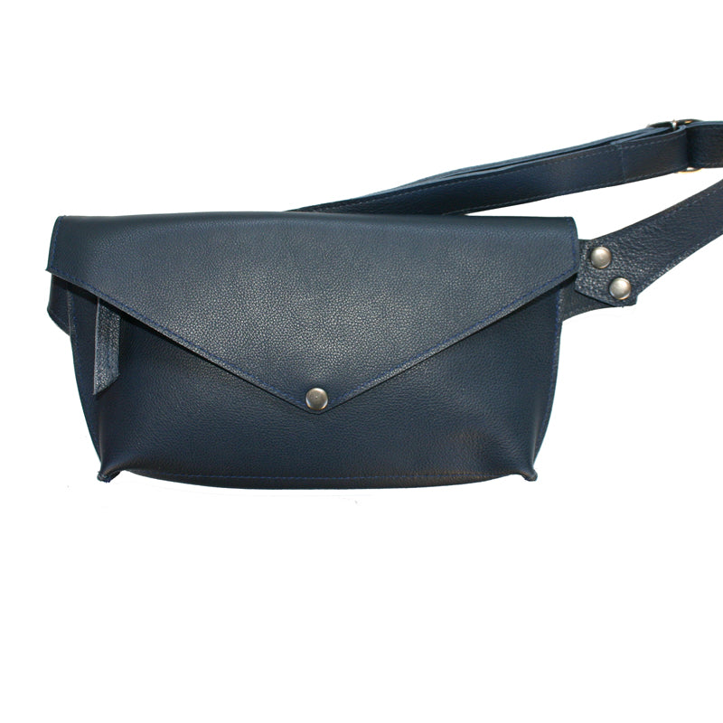 Navy Seam-Out Fanny Pack