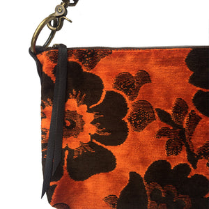 Slouchy Bag - Vintage Orange Plush