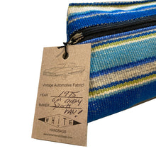 Load image into Gallery viewer, Cosmetic Bag - Ocean Stripe 1975