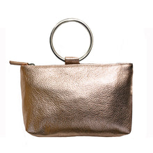 Load image into Gallery viewer, Ring Wristlet - Pale Pink Metallic
